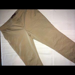 Women's khaki skinny leg